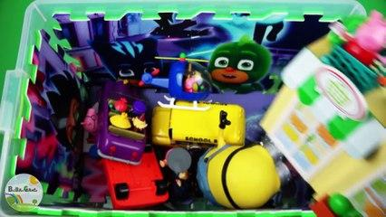 Learn fun video characters, colors, vehicles. Insects, Peppa Pig, Ben and Holly, PJ Masks for childr