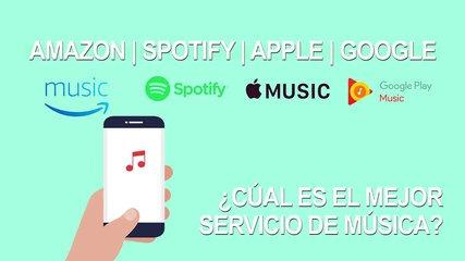 Amazon, Spotify, Apple y Google, ¿Cuál es el mejor servicio de música en streaming?