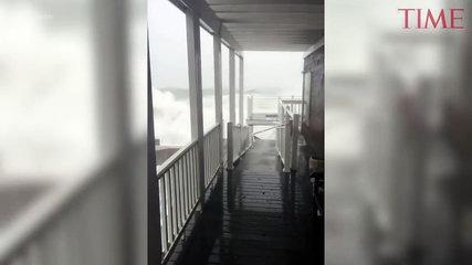The Nor'easter Storm Is Causing Serious Coastal Flooding In And Around Boston -