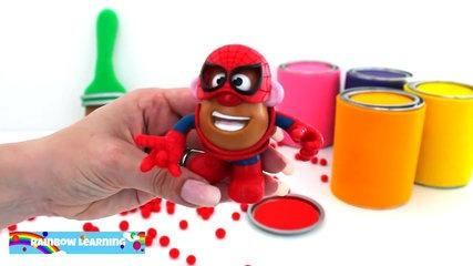 Learn Colors Slime Clay Play Doh Minions Frozen Thomas Lalaloopsy RainbowLearning (NEW)
