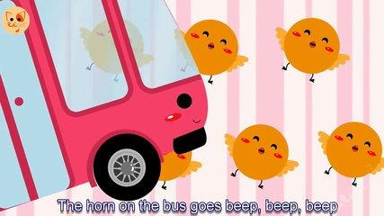 Canciones infantiles en inglés ✔ Wheels On The Bus Go Round And Round Songs 2015 Nursery Rhymes