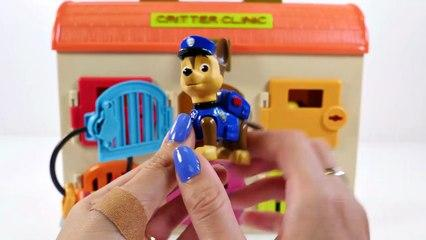 Mejores Videos Para Niños Aprendiendo Colores - Paw Patrol Animal Clinic Learn Colors for Kids