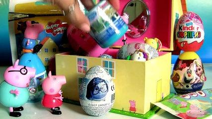 Music Box Surprise Peppa Pig Caixinha de Músicas Surpresa Play Doh 3D Disney Frozen TsumT