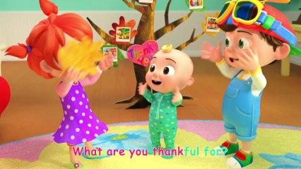 Thank You Song - CoCoMelon Nursery Rhymes & Kids Songs