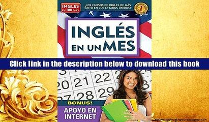 Download [PDF]  Ingl?s en un mes (Serie Ingles en 100 Dias) (Spanish Edition) Aguilar For Kindle