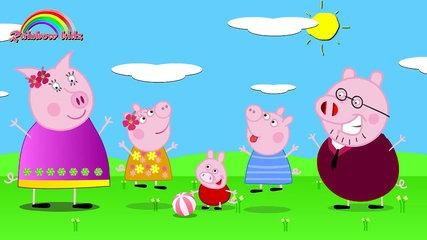 finger family   pappa pig finger family   daddy finger daddy finger/Canciones para Bebes