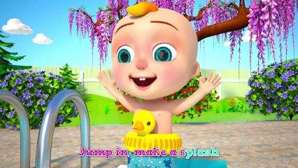 Family SWIMMING - +More Nursery Rhymes & Kids Songs Loky - DoDoBee