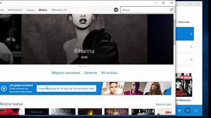 Curso de Windows 10. 9.3. Aplicación Groove Música