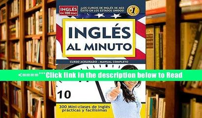Download Ingles al Minuto: Curso Acelerado - Manual Completo (Ingles en 100 Dias) PDF Best