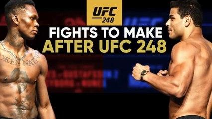 10 Fights To Make After UFC 248 _ Adesanya VS Romero
