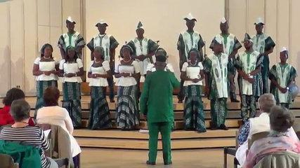 "Lagos City Corales (Nigeria): Hymn ""To God be the Glory"", MUSICA SACRA INTERNATIONAL 2016"