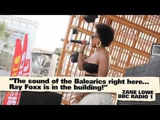 Ray Foxx Feat Lovelle - La Musica (The Trumpeter)  live in Ibiza