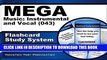 [PDF] Mega Music Instrumental and Vocal (043) Flashcard Study System: Mega Test Practice Questions