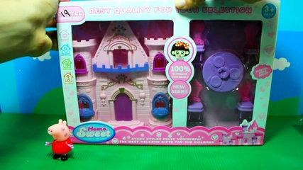 Peppa Pig English Episodes Toys CASTLE Peppa Pig New Episodes