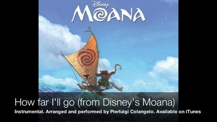 Pierluigi Colangelo - How far I'll go (from Disney's Moana) - Instrumental