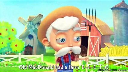 CANCIONES INFANTILES EN INGLÉS: Old MacDonald Had A Farm/Cinco Patitos - MÚSICAS INFANTILES