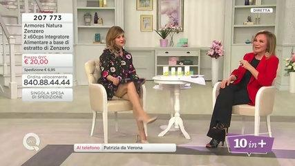 Cristiana Banchetti Short Flower Dress QVC Italy 19-04-18