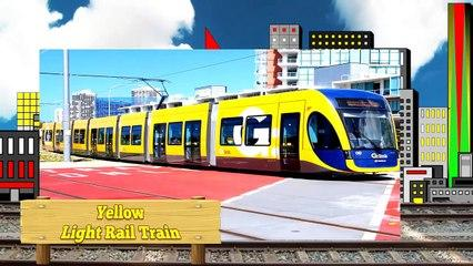 Trains Learning Video for Kids - Learn Colors Trains for Children - Trenes de Colores para niños -==