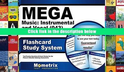 [PDF]  MEGA Music: Instrumental and Vocal (043) Flashcard Study System: MEGA Test Practice