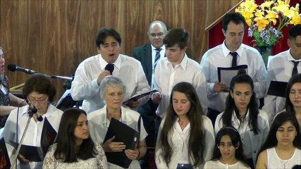 Iglesia Evangelica Pentecostal. Alabanza del Coro de la Iglesia, junto al coro de niños(3). 03-12-20
