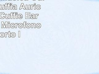 Mp3 Audio Musica Guida Casa Cuffia Auricolare per Cuffie Earphone con Microfono supporto