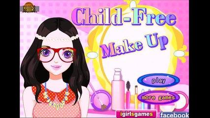 Child Free Make Up - Baby games - Jeux de bébé - Juegos de Ninos