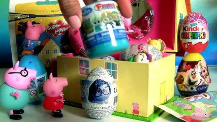 Surprise Music Box Peppa Pig ~Caixinha de Músicas Surpresa Peppa Pig PlayDoh Disney Frozen Tsum Tsum
