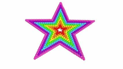 Teach Colors with Star and 3D Lollipops - Enseñar colores en inglés