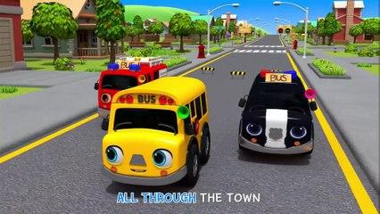 Wheels On The Bus Go To Town, Farm, School | Nursery Rhymes & Kids Songs - ToyMonster