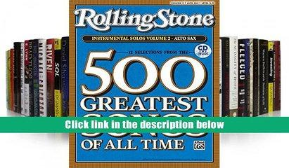 [PDF]  Selections from Rolling Stone Magazine s 500 Greatest Songs of All Time (Instrumental